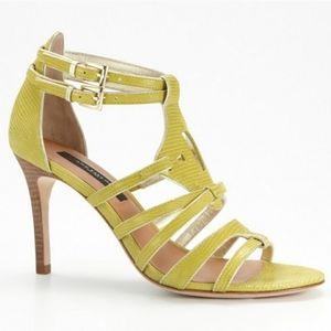 Ann Taylor Holly Gladiator Sandal Heels  7.5